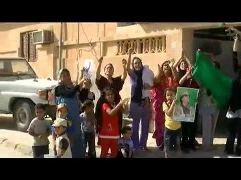 Libya : People in Sirt love their leader, spirits high