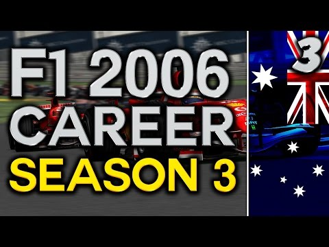 F1 2006 Career Mode S3 Part 3: Australian Grand Prix Melbourne