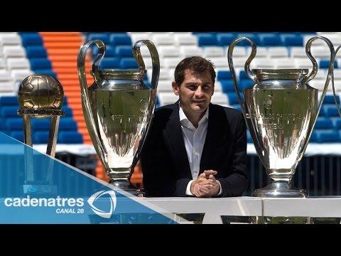 Real Madrid despide a Iker Casillas en el Bernabéu