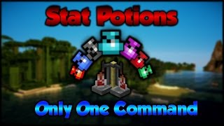 Minecraft: Stat Potions | Only One Command
