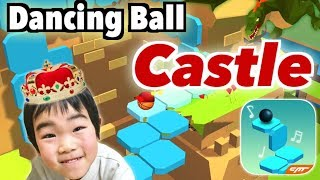 Dancing Ball Saga【Castle】100% 7 years old ダンシングボール【城】