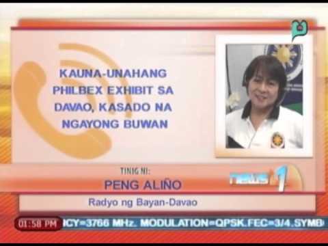 News@1: Kauna-unahang PhilBex exhibit sa Davao, kasado na ngayong buwan || May 9, 2014