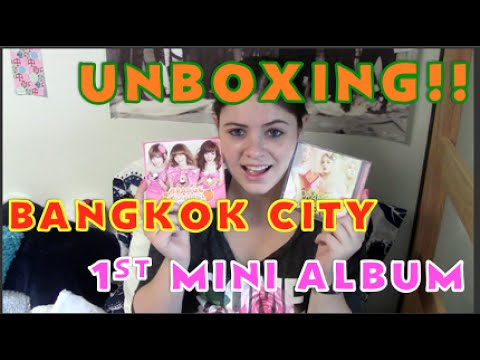 [UNBOXING] Orange Caramel 1st Mini (Magic Girl) + Bangkok City!!