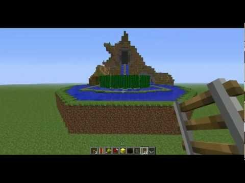 Minecraft Disneyland Splash