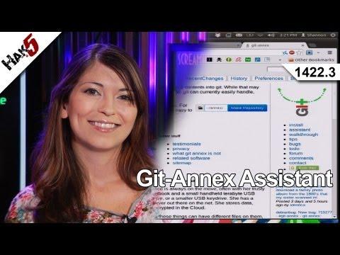 Git-Annex Assistant, Hak5 1422.3