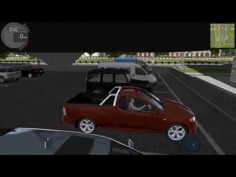 City Car Driving - где находятся многоуровневые парковки!
