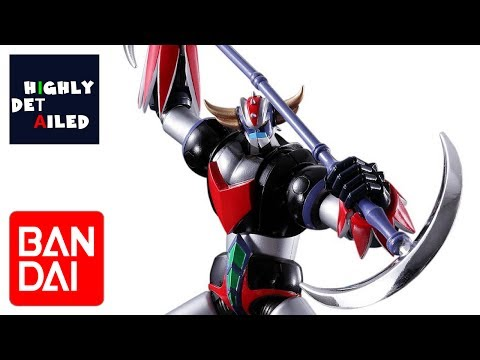 BANDAI SRC GRENDIZER GOLDRAKE ACTION FIGURE RECENSIONE REVIEW (ITA)