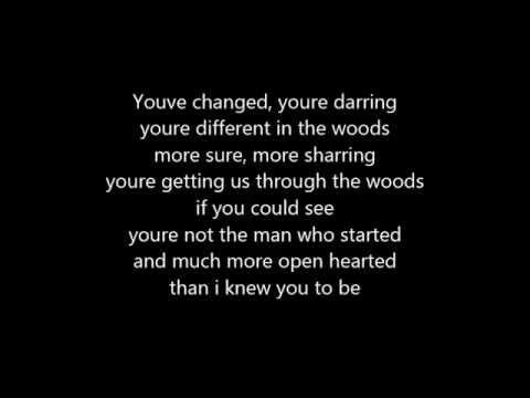 INTO THE WOODS- IT TAKES TWO- LYRICS