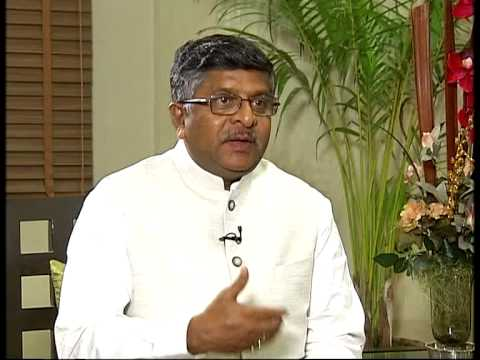Exclusive interview with Law Minister Ravi Shankar Prasad