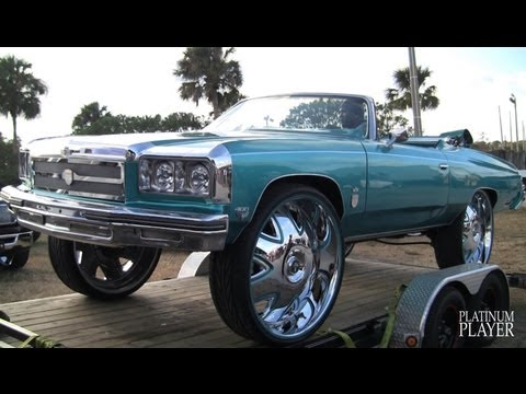 1975 CHEVY CAPRICE on 32 INCH RIMS- CENTRAL FLORIDA SERIES