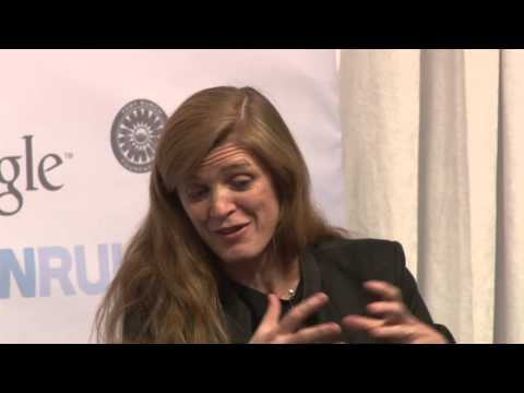 Samantha Power at Women Rule 'Driving the Conversation'