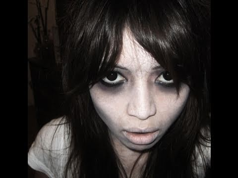 The Grudge Halloween Makeup Tutorial