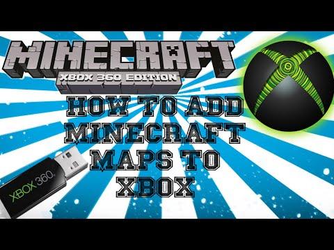 ★ How To Install - Minecraft Xbox 360 Custom Maps (Voice Tutorial)