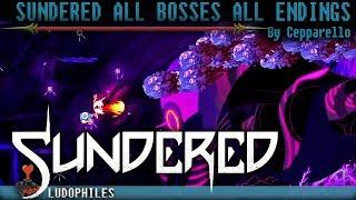 Sundered - All Bosses & All Endings (Neutral, Embrace, Resist)