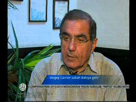 Sergey Lavrov sabah Bakıya gəlir