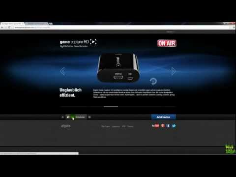 Elgato Game Capture HD [Tutorial + Review] [FULL HD] [DEUTSCH] Part 1