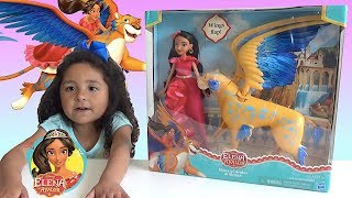 MY ELENA OF AVALOR TOYS! DISNEY  TOY   UNBOXING   TWIN GIRL PLAYS WITH HER NEW TOY