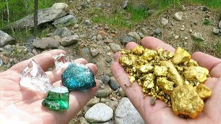 Found Not Only Gold: Emerald, Diamonds and Sapphire