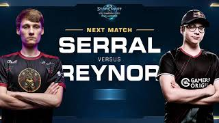 Serral vs Reynor ZvZ - Grand Final - WCS Challenger EU Season 2