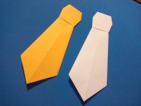 Сделать галстук из бумаги своими руками 98