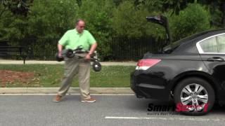 SmartScoot™ - World's Lightest, Smartest Travel Scooter!