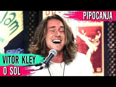 O Sol - Vitor Kley  ACUSTICO 🎤 🎵 + Entrevista - PIPOCANJA