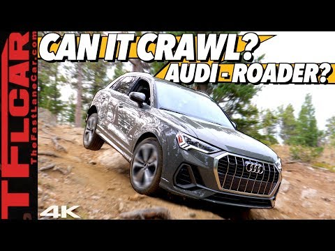 The New AWD 2019 Audi Q3 Has an Off-Road Mode BUT Can it Climb a Mountain? Let's Find Out!