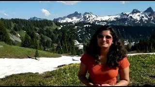 Travel with Shikha Mt Rainier, Seattle