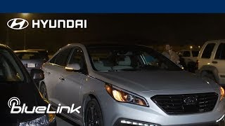 How to use the Car Finder Feature   Hyundai Blue Link®