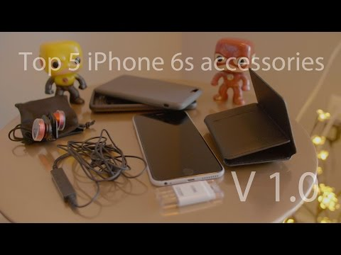 Top 5 accessories for the iPhone 6s & 6s Plus