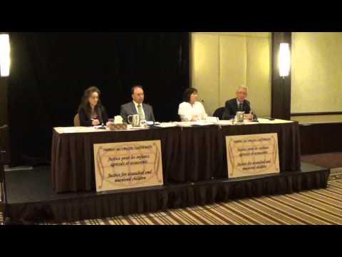 Conférence de presse / Justice pour nos enfants (HD)