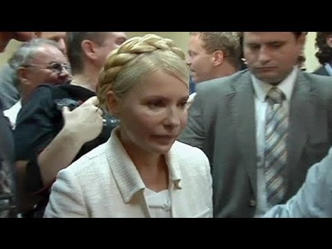 Tymoshenko 're-arrested' in Ukraine prison cell
