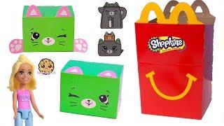 McDonalds Happy Meal 2018 Happy Places Shopkins Petkins + Surprise Blind Bags