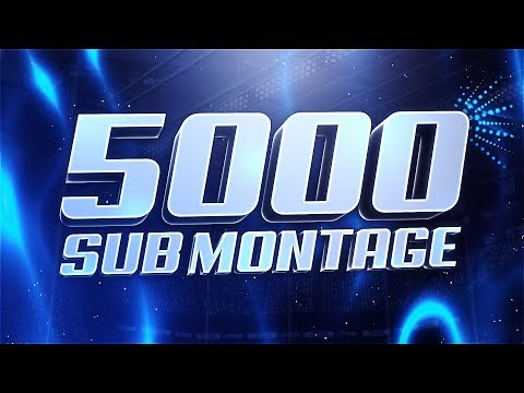 Rocket League | 5000 Sub Montage | Edited by JDL