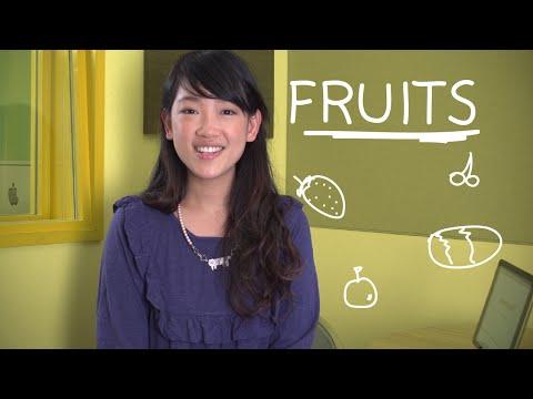 Weekly Thai Words with Ja - Fruits