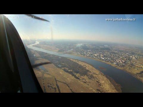 Jurbarko kraštas iš paukščio skrydžio