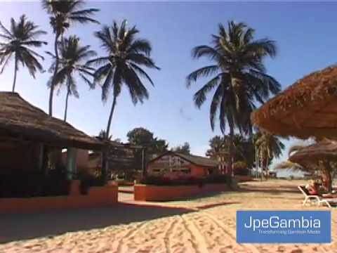 Guide to the Gambia Cape Point The Sand Plover Restaurant .mov