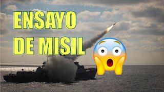 ENSAYO DE MISIL EN DESTRUCTOR DDG 51 RC