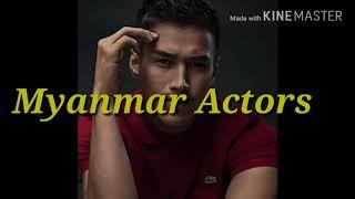 Myanmar actors