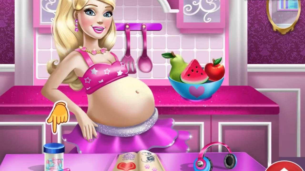 Играть в барби беременная 66
