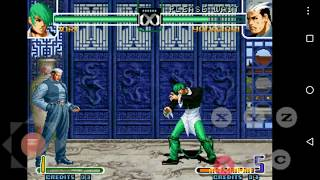 Kof 2002 Magic Plus 2 Green version + Modo practica para Android