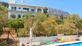 2 BED BUNGALOW PLUS 1 BED ANNEX & PRIVATE POOL ON 1 DONUM OF LAND  BASPINAR, KYRENIA £124,900 HP1621