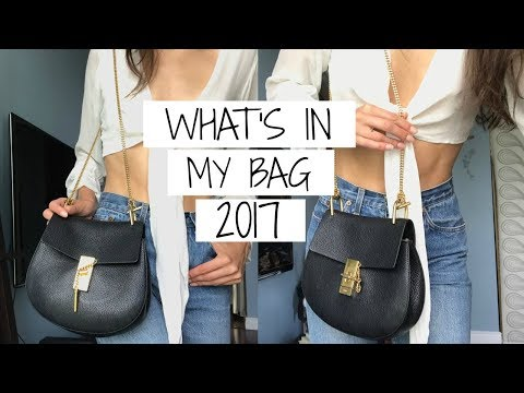 What's in My Bag 2017   Chloe Drew   Jessica Clements