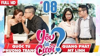 LOVE IS MARRIAGE?| YLC #8 UNCUT| Quoc tu - Phuong Trang | Quang Phat - My Linh | 021217 💙