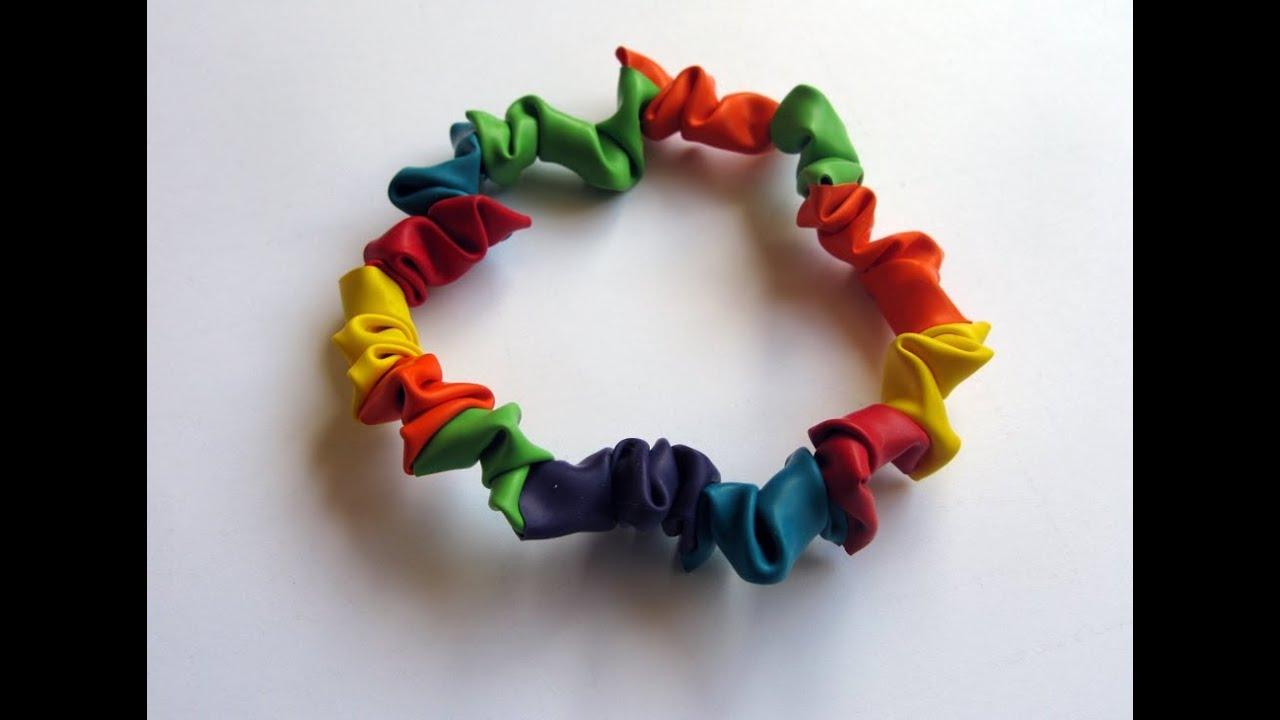 Manualidades pulseras de globos manualidades para - Manualidades con globos ...
