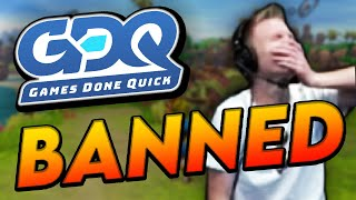 "5 Speedrunners BANNED From ""Games Done Quick"""