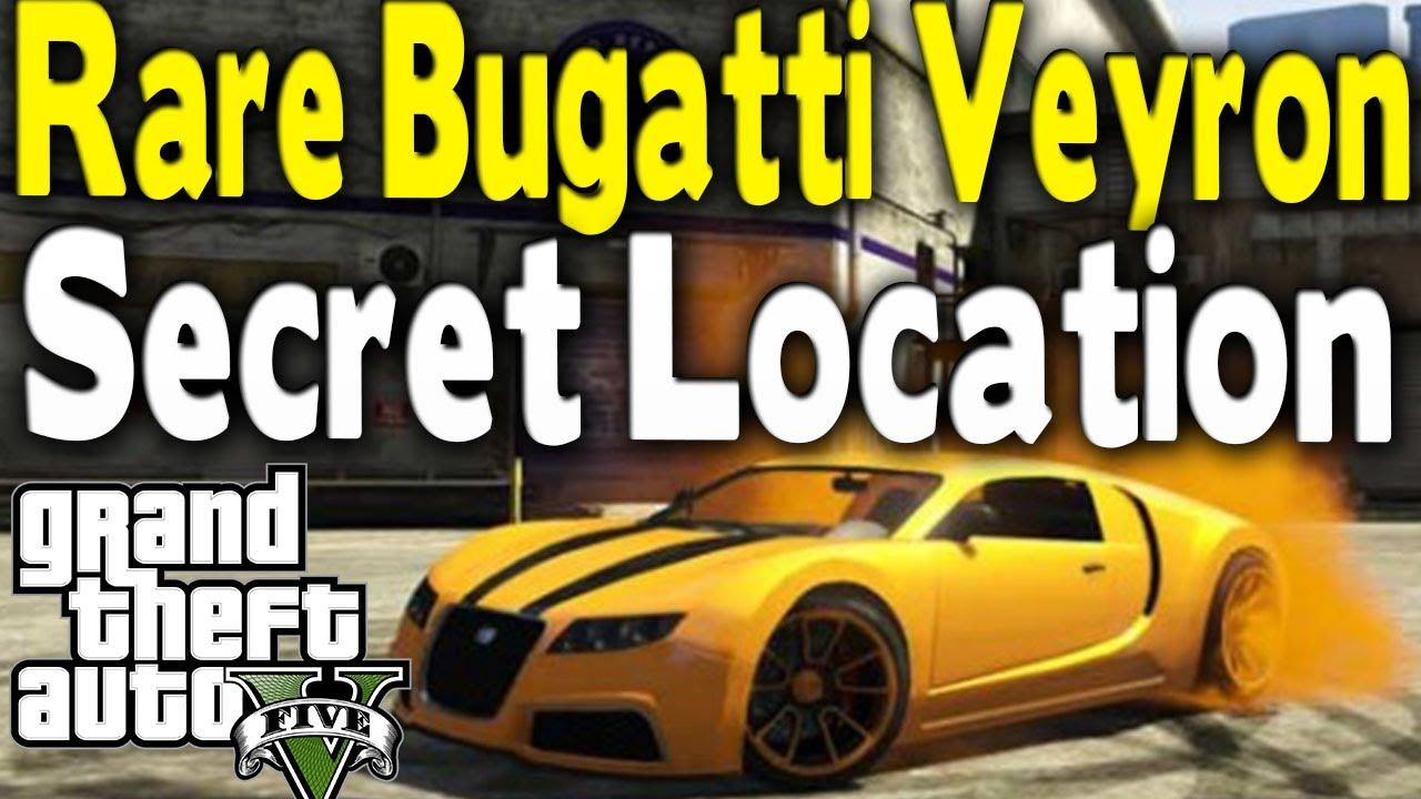 Gta 5 Bugatti Location Online Gta 5 Rare Bugatti Veyron