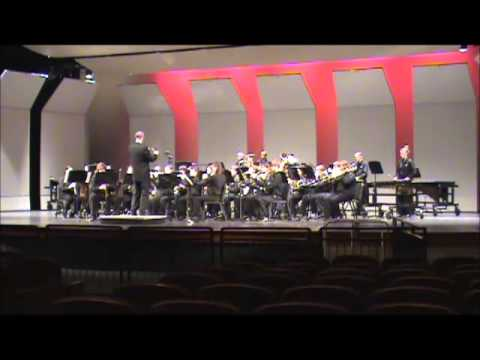 """Men of Ohio March"" - Gilbert High School Symphonic Band"