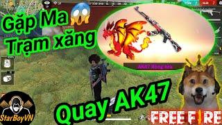 [Garena Free Fire] Quay ra AK47 Rồng Lửa - Gặp Ma | StarBoyVN