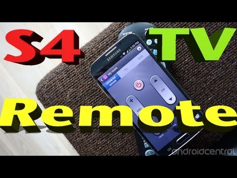 Samsung Galaxy S4 TV REMOTE   Use your S4 as a TV REMOTE